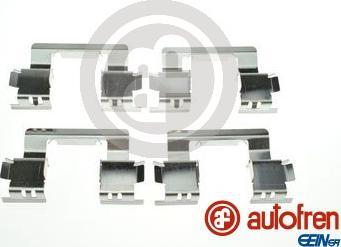 AUTOFREN SEINSA D42968A - Piederumu komplekts, Disku bremžu uzlikas interparts.lv