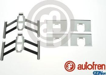 AUTOFREN SEINSA D42902A - Piederumu komplekts, Disku bremžu uzlikas interparts.lv