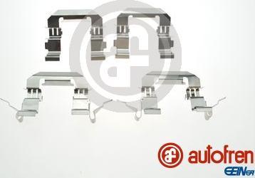 AUTOFREN SEINSA D42986A - Piederumu komplekts, Disku bremžu uzlikas interparts.lv