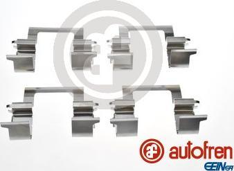 AUTOFREN SEINSA D42983A - Piederumu komplekts, Disku bremžu uzlikas interparts.lv