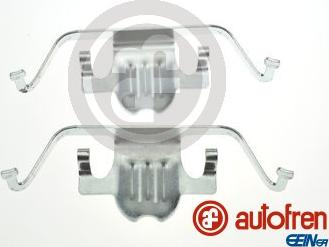 AUTOFREN SEINSA D42920A - Piederumu komplekts, Disku bremžu uzlikas interparts.lv