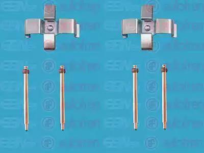 AUTOFREN SEINSA D42469A - Piederumu komplekts, Disku bremžu uzlikas interparts.lv