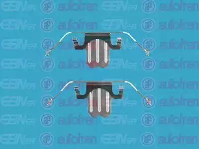 AUTOFREN SEINSA D42477A - Piederumu komplekts, Disku bremžu uzlikas interparts.lv