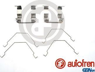 AUTOFREN SEINSA D42564A - Piederumu komplekts, Disku bremžu uzlikas interparts.lv