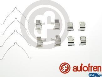 AUTOFREN SEINSA D42572A - Piederumu komplekts, Disku bremžu uzlikas interparts.lv