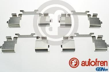 AUTOFREN SEINSA D42691A - Piederumu komplekts, Disku bremžu uzlikas interparts.lv