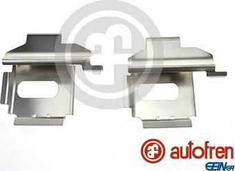 AUTOFREN SEINSA D42611A - Piederumu komplekts, Disku bremžu uzlikas interparts.lv