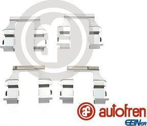 AUTOFREN SEINSA D42685A - Piederumu komplekts, Disku bremžu uzlikas interparts.lv