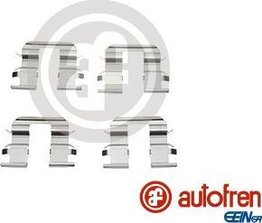 AUTOFREN SEINSA D42682A - Piederumu komplekts, Disku bremžu uzlikas interparts.lv