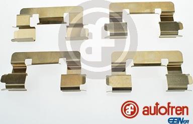 AUTOFREN SEINSA D42632A - Piederumu komplekts, Disku bremžu uzlikas interparts.lv