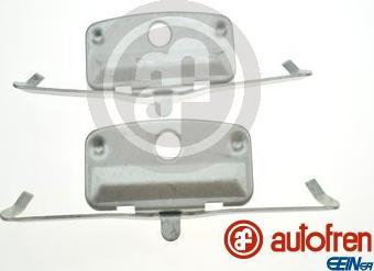 AUTOFREN SEINSA D42898A - Piederumu komplekts, Disku bremžu uzlikas interparts.lv
