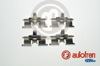 AUTOFREN SEINSA D42892A - Piederumu komplekts, Disku bremžu uzlikas interparts.lv