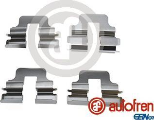 AUTOFREN SEINSA D42864A - Piederumu komplekts, Disku bremžu uzlikas interparts.lv