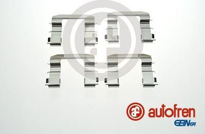 AUTOFREN SEINSA D42868A - Piederumu komplekts, Disku bremžu uzlikas interparts.lv