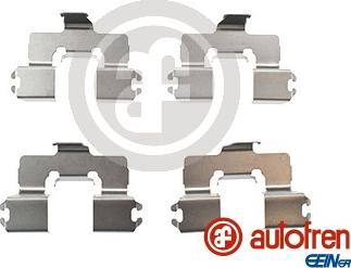 AUTOFREN SEINSA D42802A - Piederumu komplekts, Disku bremžu uzlikas interparts.lv