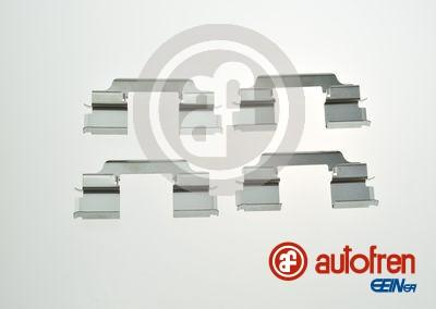 AUTOFREN SEINSA D42885A - Piederumu komplekts, Disku bremžu uzlikas interparts.lv