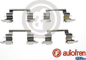AUTOFREN SEINSA D42881A - Piederumu komplekts, Disku bremžu uzlikas interparts.lv