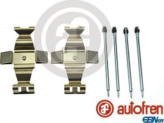 AUTOFREN SEINSA D42821A - Piederumu komplekts, Disku bremžu uzlikas interparts.lv