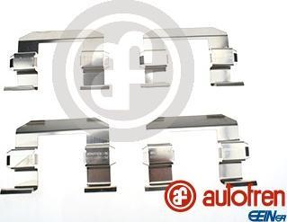 AUTOFREN SEINSA D42870A - Piederumu komplekts, Disku bremžu uzlikas interparts.lv