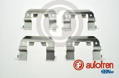 AUTOFREN SEINSA D42871A - Piederumu komplekts, Disku bremžu uzlikas interparts.lv