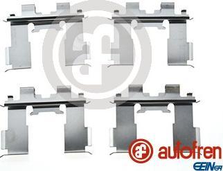 AUTOFREN SEINSA D42873A - Piederumu komplekts, Disku bremžu uzlikas interparts.lv