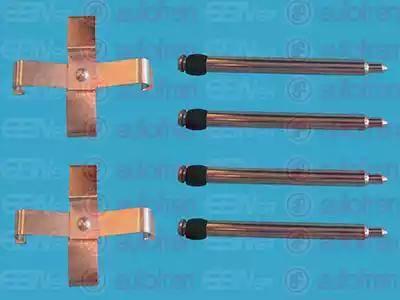 AUTOFREN SEINSA D42353A - Piederumu komplekts, Disku bremžu uzlikas interparts.lv