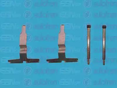 AUTOFREN SEINSA D42388A - Piederumu komplekts, Disku bremžu uzlikas interparts.lv