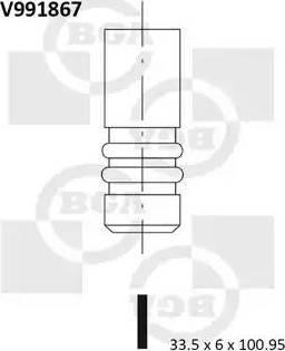 BGA V991867 - Ieplūdes vārsts interparts.lv