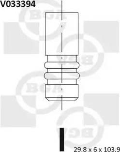 BGA V033394 - Izplūdes vārsts interparts.lv