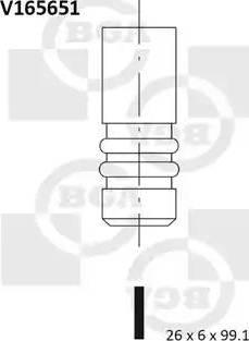 BGA V165651 - Izplūdes vārsts interparts.lv