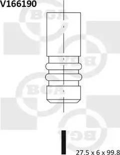 BGA V166190 - Ieplūdes vārsts interparts.lv
