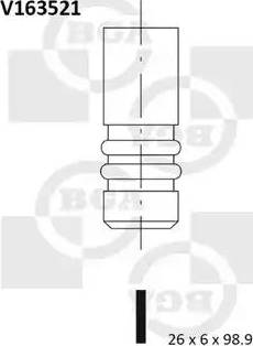 BGA V163521 - Izplūdes vārsts interparts.lv