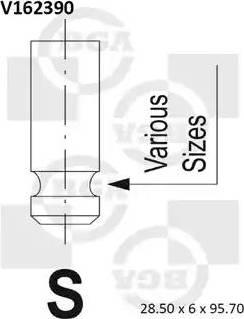 BGA V162390 - Ieplūdes vārsts interparts.lv