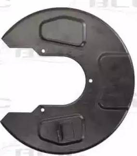 BLIC 6508-03-9590878P - Dubļu sargs, Bremžu disks interparts.lv