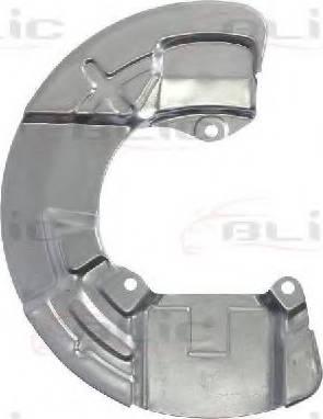 BLIC 6508-03-9047377P - Dubļu sargs, Bremžu disks interparts.lv