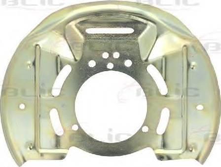 BLIC 6508-03-5076377P - Dubļu sargs, Bremžu disks interparts.lv