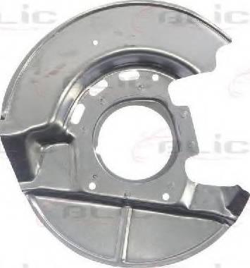 BLIC 6508-03-0054378P - Dubļu sargs, Bremžu disks interparts.lv