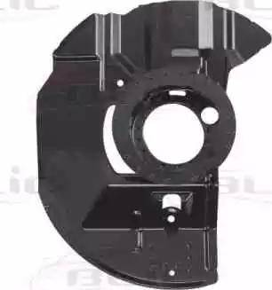 BLIC 6508-03-0061378P - Dubļu sargs, Bremžu disks interparts.lv