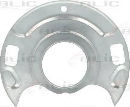BLIC 6508-03-1666379P - Dubļu sargs, Bremžu disks interparts.lv