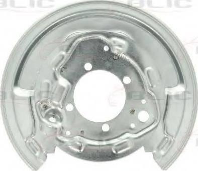 BLIC 6508-03-8161878P - Dubļu sargs, Bremžu disks interparts.lv
