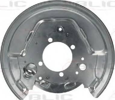 BLIC 6508-03-8161877P - Dubļu sargs, Bremžu disks interparts.lv