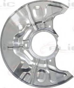 BLIC 6508-03-8161378P - Dubļu sargs, Bremžu disks interparts.lv