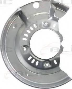 BLIC 6508-03-8109377P - Dubļu sargs, Bremžu disks interparts.lv
