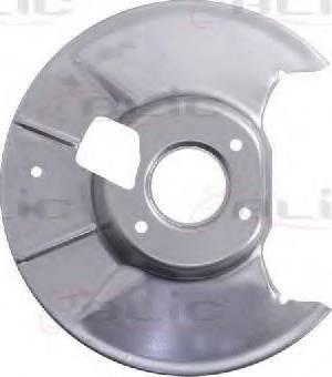 BLIC 6508-03-3451877P - Dubļu sargs, Bremžu disks interparts.lv