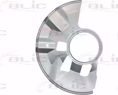BLIC 6508-03-3451378P - Dubļu sargs, Bremžu disks interparts.lv