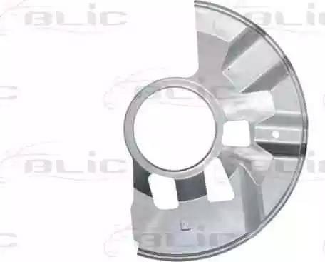 BLIC 6508-03-3451377P - Dubļu sargs, Bremžu disks interparts.lv