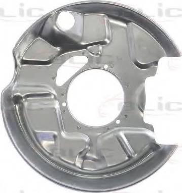 BLIC 6508-03-3526877P - Dubļu sargs, Bremžu disks interparts.lv