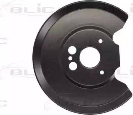 BLIC 6508-03-2554879P - Dubļu sargs, Bremžu disks interparts.lv