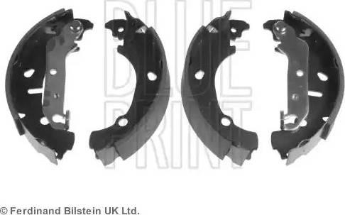 Blue Print ADM54145 - Bremžu komplekts, trumuļa bremzes interparts.lv