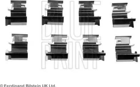 Blue Print ADT348601 - Piederumu komplekts, Disku bremžu uzlikas interparts.lv
